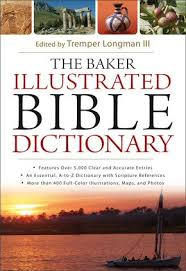A Bible dictionary I helped edit just came out (not recommended for pregnant women or those with a history of back problems)
