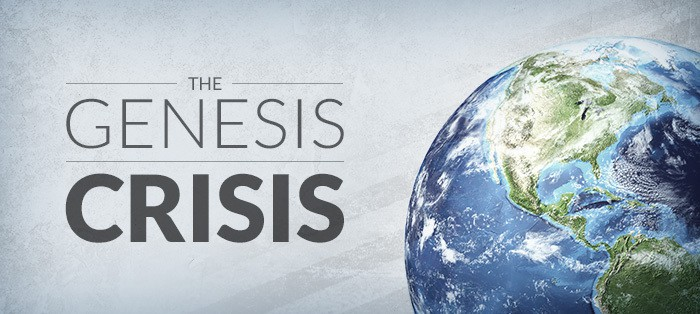 "Here's something new: Genesis is in ""crisis"" and if you don't see that you're ""syncretistic"""