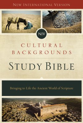 the brand new NIV Cultural Backgrounds Study Bible—some first impressions