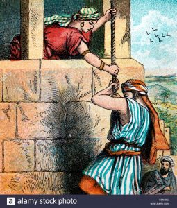 bible-stories-illustration-of-rahab-assisting-the-the-israelite-spies-c8n38g